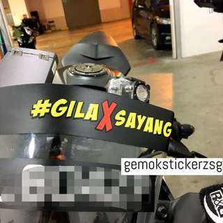#GILAXSAYANG DECAL