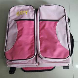 Handy Foldable Baby Diaper Changing Bag