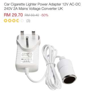 Car Adapter To Plug
