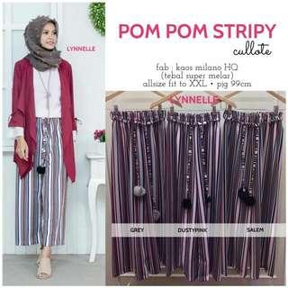 Pompom Stripy