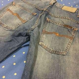 Nudie Jeans Thin Finn Mid Worn Indigo Original
