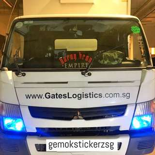 LORRY CUSTOM DECAL
