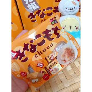 🚚 «Kimi Shop» 日本➜預購 盒裝日本松尾黃豆粉QQ麻糬巧克力