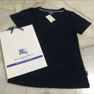 Authentic Burberry blue label T-shirt