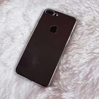 Transparent snap on case iPhone 7+/8+