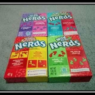 Pepero and Nerds