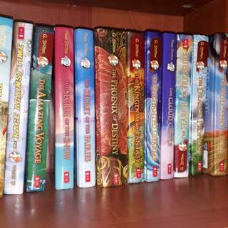 Thea Stilton Books and Geronimo stilton