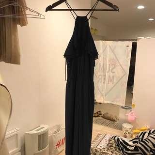 H&M 雪紡長洋裝