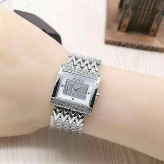 Jam tangan bonia silver (free ongkir jabodetabek)