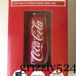 CocaCola可口可樂行動電源充電寶