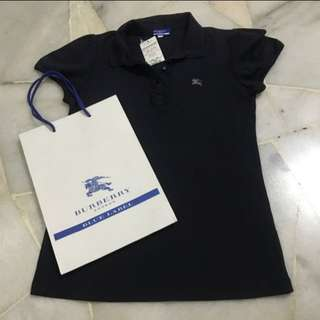 Brand new Burberry blue label polo shirt