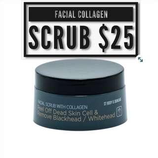 ST Facial Collagen Scrub
