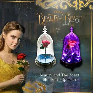Beauty And The Beast Bluetooth Speaker! Great Valentine's Day Gift for Her! Local 1 Year Warranty! 100% Original and Authentic!