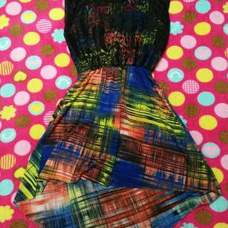 seethrough back dress