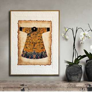 Vintage Emperor Clothes Paintings 009