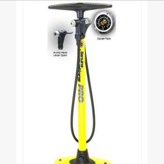 Genuine Innovations Pro Floor Pump 160psi Stand type