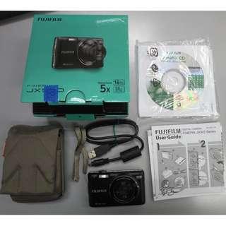 FUJIFILM FinePix JX 580 Digital Camera c/w Manfrotto pouch