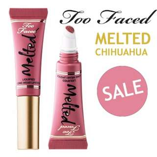 Too Faced Melted Liquefied Lipstick MINI Chihuahua 5ML