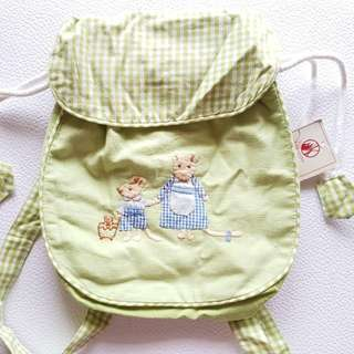 Happy Kids cotton back pack