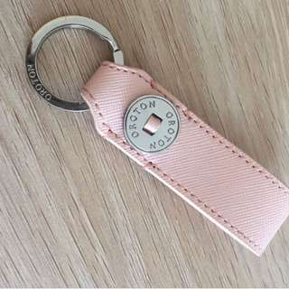 AUTHENTIC OROTON BABY PINK SILVER KEYRING