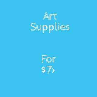 ART SUPPLIES FOR FREE!