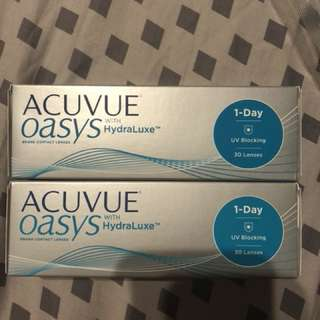 1 Day Acuvue Oasys with Hydraluxe  - 30pack