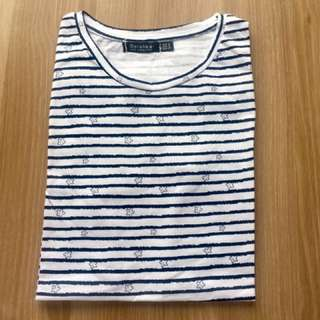 Bershka Shirt - Stripes