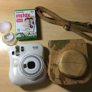 二手 拍立得mini25相機 套餐 拍立得底片 拍立得包包 拍立得鏡頭 Fujifilm Instax 雪白機 雙快門