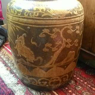 Antique Giant Pot
