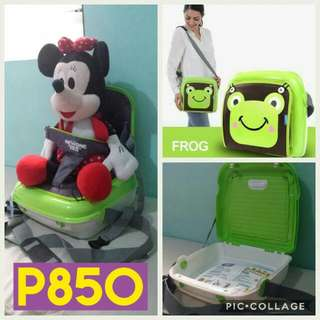 BOOSTER SEAT / BABY BAG