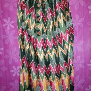 Rok Panjang Batik Model Lilit