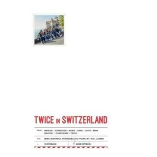 Twice - Twice TV5 : Twice in Switzerland DVD