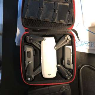 DJI Spark with 3 Batteries and Remote