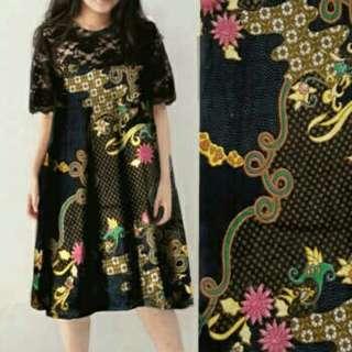 Dress Jumbo Batik Sarah
