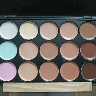 15 colors Concealer & Contour Kit