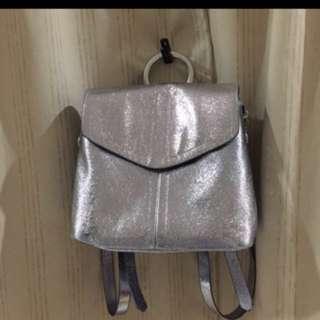 Zara Metallic Backpack (including postage)