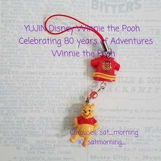 《扭蛋 轉蛋》YUJIN Disney Winnie the Pooh Celebrating 80 years of Adventures 迪士尼慶祝小熊維尼歷險80年 くまのプーさん Winnie the Pooh 小熊維尼