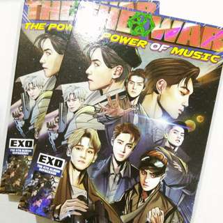 EXO THE POWER OF MUSIC UNSEALED ALBUM