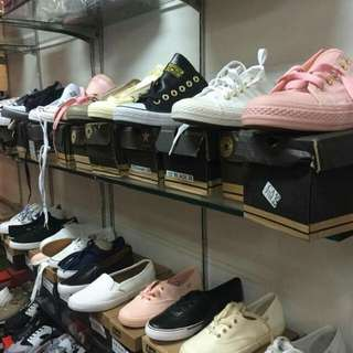 Overruns and mall excess shoes
