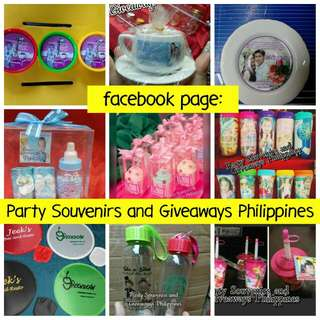 Birthday Wedding Souvenirs Giveaways Customized Party Favors