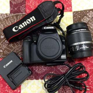 Canon 1000D full set