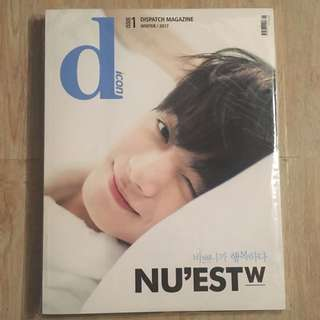 Nu'est W nuest Jr 金鐘炫 dispatch magazine 已絕版