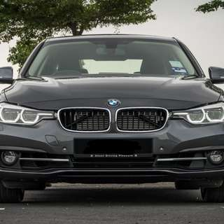 BMW F30 330e for rent