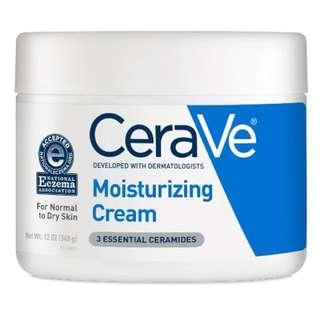 Instock Cerave Moisturizing Cream 12oz 349g