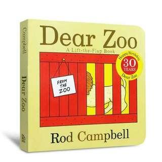 Dear Zoo: ALift-The-Flap Book