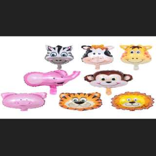 8 pcs Animal set balloon