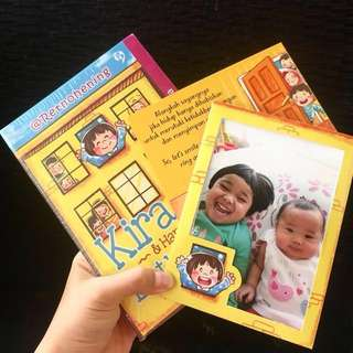 Buku Kirana and Happy Little World! (Komik, Frame photo, sticker!)