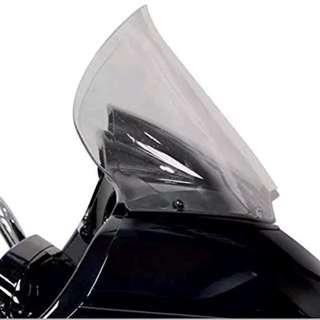 "Harley davidson Road Glide Klock werks 12"" light smoke touring windscreen. Fixed on 2015 model"
