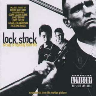 Lock, Stock & Two Smoking Barrels (Soundtrack From The Motion Picture) cd
