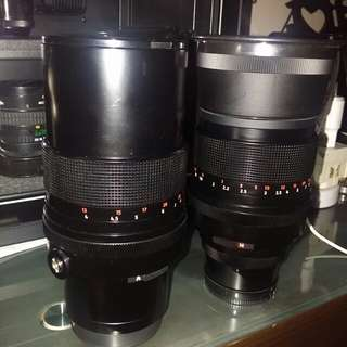 Carl Zeiss Jena S 180mm/f2.8 & 30035mm/f4 mc -East Germany Lenses Pre-CNY SALE !!